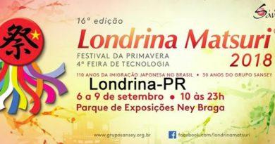 Londrina Matsuri já tem data: 6 a 9 de setembro no Parque Ney Braga