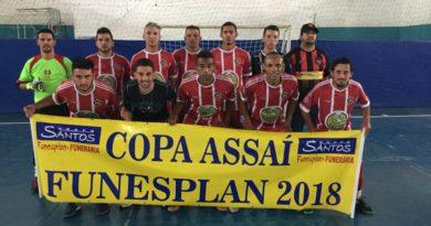 Copa Assaí Funesplan de futsal regional já tem as equipes das quartas de final