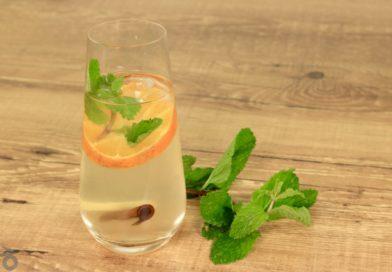 Receita de chá termogênico e refrescante