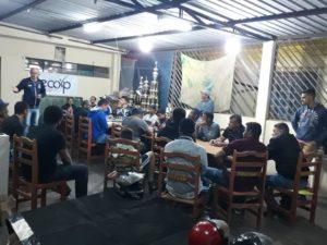 DIRETORES DE EQUIPES PARTICIPANTES DO CAMPEONATO MUNICIPAL DE FUTEBOL AMADOR CATEGORIA 2º DIVISAO DECOPE 2019