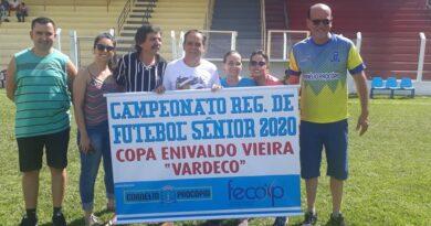 Começou a Copa Senior Enivaldo Vieira O VARDECO