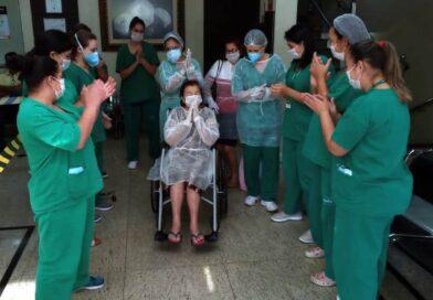Idosa de 91 anos se recupera do novo coronavírus após 10 dias de internamento no Paraná: 'Estou maravilhosa'